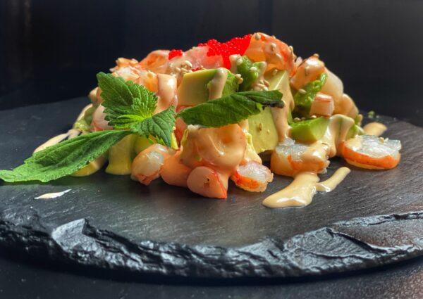 avocado ebi salad